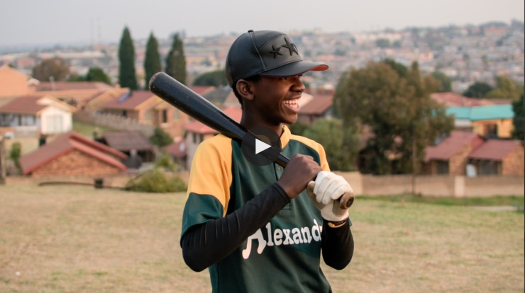 Beautiful News profile of Alexandra Baseball Club Chairman Tedius Mncube