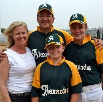 Natalie Irwin of Africa On Deck, along with her family, has been instrumental in supporting Alexandra Baseball